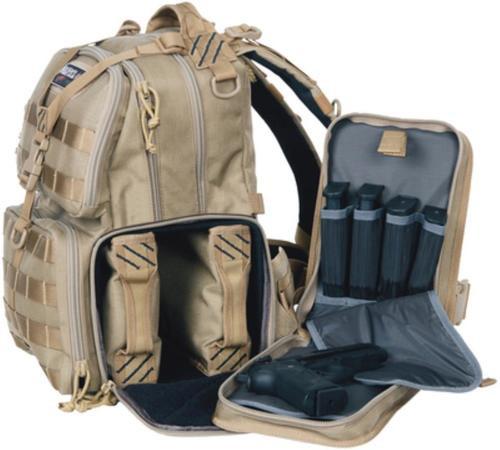 G Outdoor Tactical Range Bp Tan 1000D Nylon, Teflon Coating