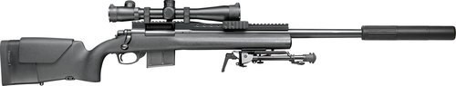 "Remington M24 A2 SWS 308/7.62, 24"" Barrel, H-S Precision Adjustable Stock, Powder Coat Stainless Steel, 4rd"