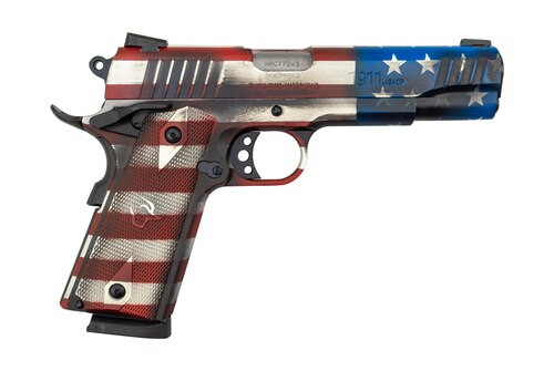 "Taurus 1911 US Flag Edition .45 ACP, 5"" Barrel, US Flag Cerakote, 8rd"