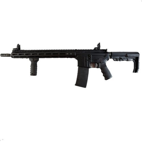 "Franklin M4-HTF XTD 5.56/.223, CA Legal, 16"" Barrel, MFT Minimalist Stock, Black, 30rd"