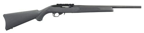 "Ruger 10/22 Carbine .22 LR, 18.5"" Barrel, Charcoal Synthetic Stock, Satin Black, 10rd"