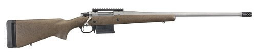 "Ruger Hawkeye Long-Range Hunter 6.5 Creedmoor, 22"" Barrel, Speckled Black/Brown Laminate, 5rd"