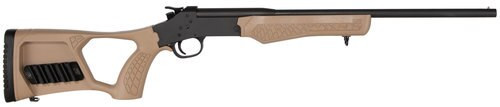 "Rossi Tuff Break-Open 410 Ga, 18.5"" Barrel, 3"", Tan, 1rd"