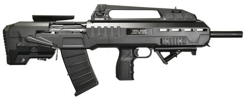 "I.O. XB Semi-Auto 12 Ga, 18.5"" Barrel, 3"", Black Fixed Bullpup Stock, 5rd"