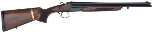 "Chiappa Triple Threat Break-Open 12 Ga, 18.5"" Barrel, 3"", Walnut, 3rd"