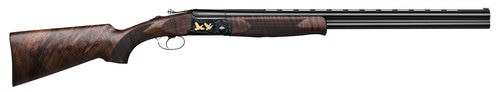 "IFG SLX 600 Over-Under 12 Ga, 28"" Barrel, 3"", Brown/Black, 2rd"