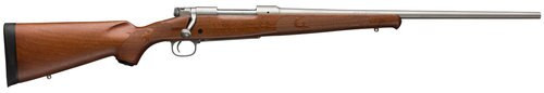 """Winchester Model 70 Featherweight 7mm Rem Mag, 24"""" Barrel, Grade I Walnut Stock, Stainless Steel, 3rd"""
