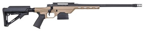 "Mossberg MVP LC 5.56/.223, 16.25"" Barrel, Magpul CTR Stock, Tan/Black, 10rd"