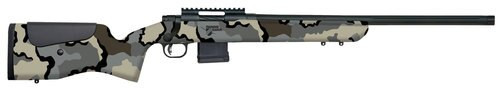 "Mossberg MVP LR 5.56/.223, 20"" Barrel, Benchrest Adjustable Comb, KUIU Camo Stock, Blued, 10rd"
