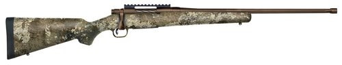 "Mossberg Patriot Predator .243 Win, 22"" Threaded Barrel, TrueTimber Strata Stock, Brown Cerakote, 5rd"