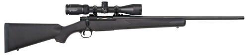"Mossberg Patriot 7mm Rem Mag, 22"" Barrel, 3-9x40mm Vortex Crossfire II, Black Stock, Blued, 3rd"