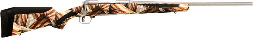 """Savage 10/110 Storm .243 Win, 22"""" Barrel, Accufit American Flag Stock, Stainless Steel, 4rd"""