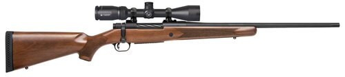 "Mossberg Patriot 7mm-08 Rem, 22"" Barrel, 3-9x40mm Vortex Crossfire II, Walnut Stock, Blued, 5rd"