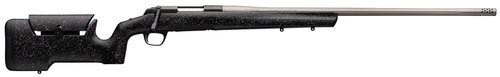 "Browning X-Bolt Max Long Range 6.5 PRC, 26"" Barrel, Black/Gray Textured Max Stock, 4rd"