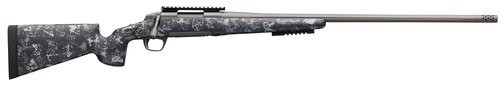 "Browning X-Bolt Hells Canyon Long Range 6.5 Creedmoor, 26"" Barrel, Urban Carbon Ambush McMillan Game Scout Stock, Tungsten, 4rd"
