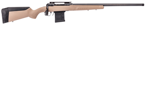 "Savage 110 Tactical Desert 6.5 Creedmoor, 24"" Barrel, Flat Dark Earth Stock, Black Carbon Steel, Left-Handed, 10rd"