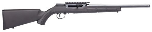 "Savage A22 FV-SR .22 LR, 16.5"" Barrel, Synthetic Black Stock, Black Carbon, 10rd"