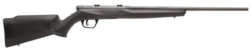 "Savage B22 F .22 LR, 21"" Barrel, Synthetic Black Stock, Carbon Steel, Blued, Left-Handed, 10rd"