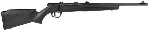 """Savage B22 Magnum F Compact .22 WMR, 18"""" Barrel, Synthetic Black Stock, Blued, 10rd"""