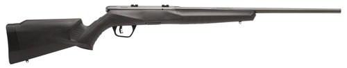 "Savage B17 F .17 HMR,  21""Barrel, Synthetic Black Stock, Blued, Left-Handed, 10rd"