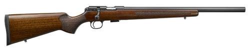 """CZ 457 Varmint .22 LR, 20.5"""" Barrel, Turkish Walnut, Blued, 5rd"""