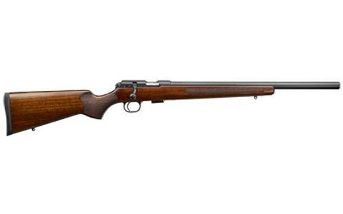 """CZ 457 Varmint .22 WMR, 20.5"""" Barrel, Turkish Walnut, Blued, 5rd"""