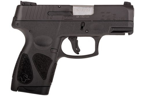"Taurus G2S .40 S&W, 3.25"" Barrel, Black Polymer Grip, Black Carbon Steel Slide, 7rd"