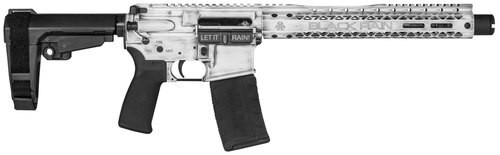 "Black Rain Fusion AR Pistol 5.56/.223, 10.5"" Barrel, Rubber White Battleworn, 30rd"