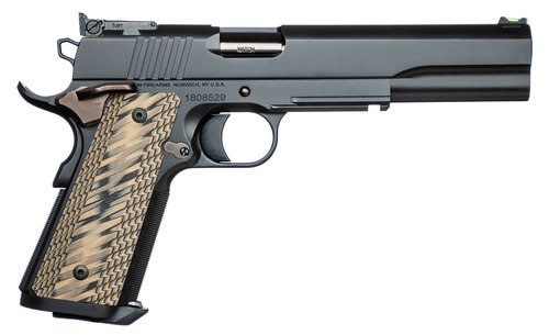 "Dan Wesson Kodiak 10mm, 6.03"" Barrel, Brown G10 Grips, Duty Black Slide, 8rd"