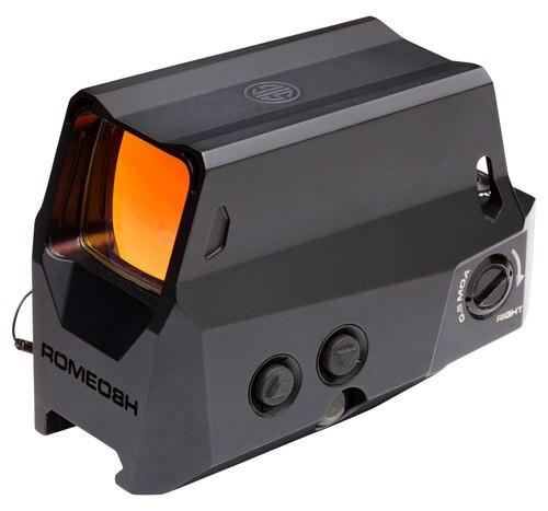 Sig Electro-Optics ROMEO8H, 1x38mm Ruggedized Mil-Spec Red Dot, .5 MOA, Quad Ballistic Circle Dot Reticle, MOTAC