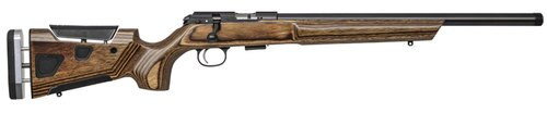 "CZ 457 At-One Varmint 22 LR, 24"" Heavy Threaded Barrel, Brown Adj Comb, LOP Stock, 5rd"
