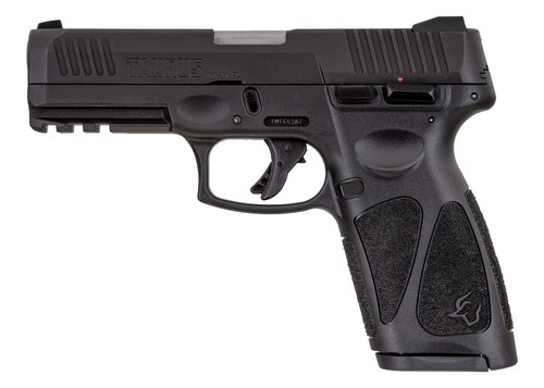 """Taurus, G3, Semi-automatic Pistol, Strike Fired, Full Size, 9mm, 4"""" Barrel, Polymer Frame, Black Slide, Fixed Front Sight With Drift Adjustable Rear Sight, 2-15 Rd Magazines"""