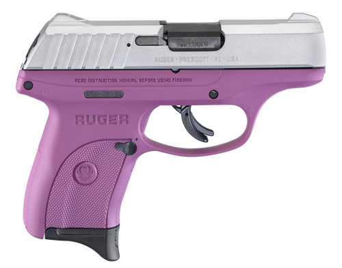 "Ruger EC9s 9mm, 3.12"" Barrel, Purple, 7rd"