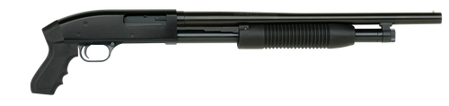 "Maverick Model 88, Cruiser 12 Ga, 3"" Chamber, 18.5"" Cylinder Barrel, Blue Finish, Black Synthetic Pistol Grip, 6Rd, Bead Sight"