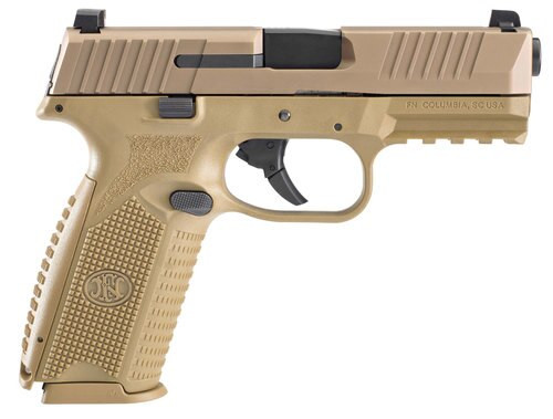 FN 509 9mm NMS, Flat Dark Earth, 10rd