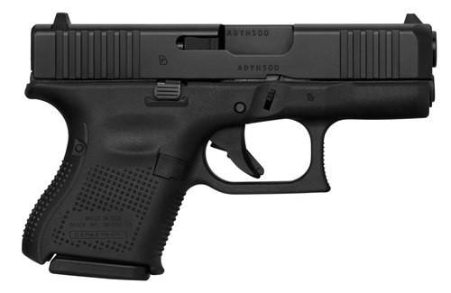 "Glock G26 Gen5 9mm, 3.43"" Barrel, Glock Night Sights, 10rd front ser. 3 magazines LE ONLY"