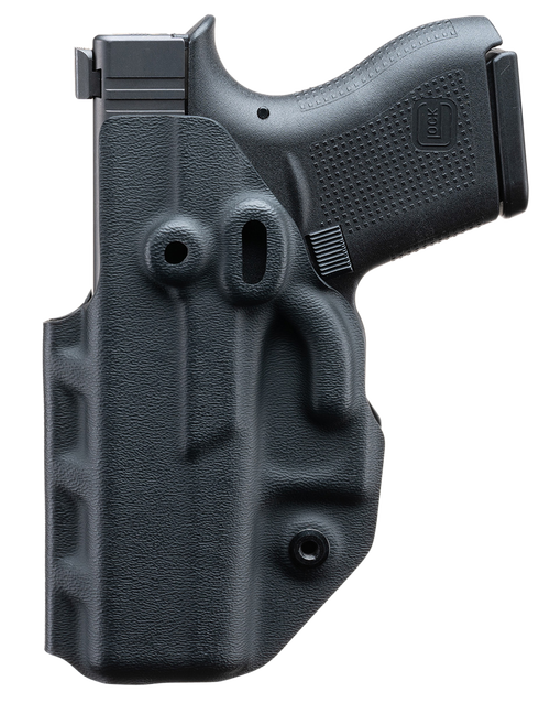 Covert IWB, Inside Waistband Holster, Ambidextrous, Kydex, Black, Fits Glock 43/43X