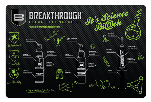 "Breakthrough Clean Cleaning Mat Pistol 11"" x 17"""