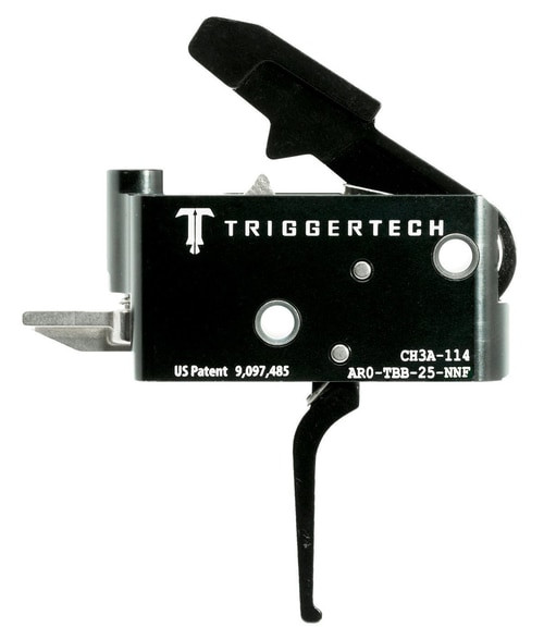 TriggerTech Adaptable Primary with Bolt Release AR-Platform Two Stage Flat 2.50-5.00 lbs