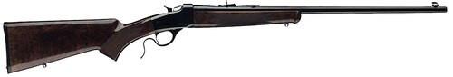 "Winchester 1885 Low Wall Hunter, 17 Win Super Mag 24"" Barrel, Walnut Stock"