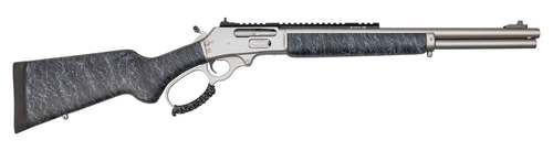 "Marlin 1895 SBL Modern Lever Hunter .45-70 Govt, 18"" Barrel, Happy Trigger, Gunmetal Gray, Black Stock Gunmetal Gray Splatter, 6rd"