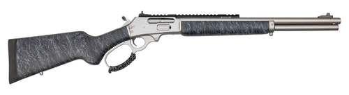 """Marlin 1895 SBL Modern Lever Hunter .45-70 Govt, 18"""" Barrel, Happy Trigger, Gunmetal Gray, Black Stock Gunmetal Gray Splatter, 6rd"""