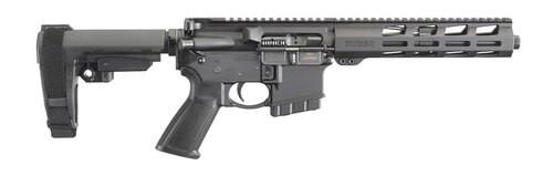 "Ruger AR-556 AR-15 Pistol 350 Legend, 9.5"" Barrel, M-LOK, SBA3 Pistol Brace, Black, 5rd"