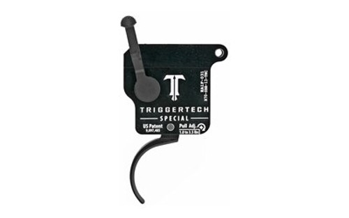TriggerTech Special without Bolt Release, Remington 700, Single-Stage, Traditional Curved, 1.00-3.50 lbs