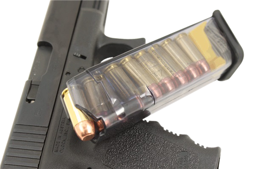 ETS G22 40 S&W G22/23/27, Polymer Clear Finish, 16rd