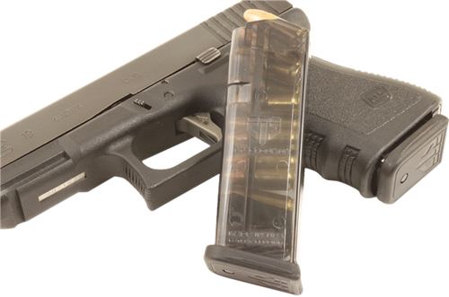 ETS Glock 19 9mm G19/26 (Gen 1-4) Polymer Clear Finish, 10rd