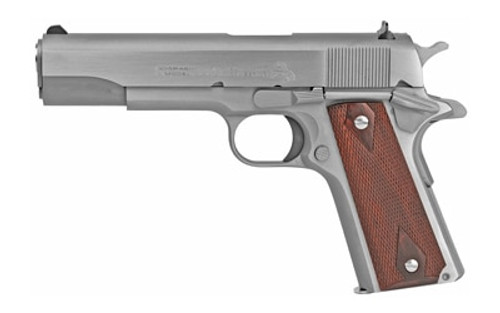 "Colt O1911C-SS Government 45ACP, 5"" Barrel, Stainless Steel"