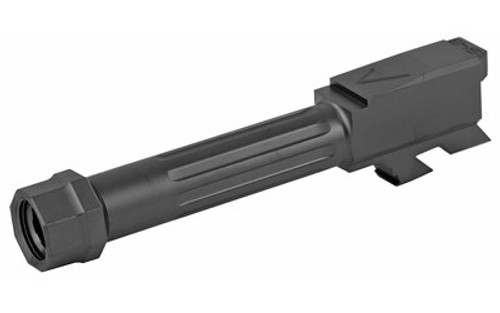 Agency Arms Glock 43 Barrel,Threaded / Fluted, Black