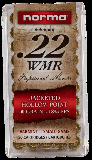 Norma 22WMR 40gr, JHP, 50rd Box