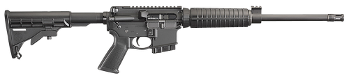 """Ruger AR556 5.56mm, 16.1"""" Barrel, TB Collapsible, 10rd"""